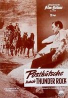 Stage to Thunder Rock - German poster (xs thumbnail)