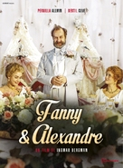 Fanny och Alexander - French DVD cover (xs thumbnail)