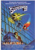 Superman III - Spanish Movie Poster (xs thumbnail)