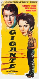Giant - Spanish Movie Poster (xs thumbnail)
