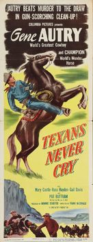 Texans Never Cry - Movie Poster (xs thumbnail)