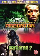 Predator 2 - British DVD movie cover (xs thumbnail)