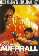 Ricochet - German VHS cover (xs thumbnail)