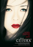Memoirs of a Geisha - German Movie Poster (xs thumbnail)