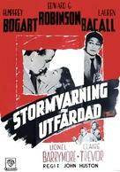 Key Largo - Norwegian Movie Poster (xs thumbnail)
