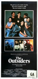 The Outsiders - Australian Movie Poster (xs thumbnail)
