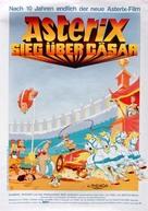 Astérix et la surprise de César - German Movie Poster (xs thumbnail)