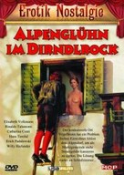 Alpenglühn im Dirndlrock - German DVD movie cover (xs thumbnail)