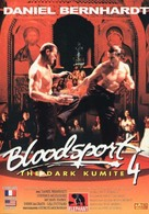 Bloodsport: The Dark Kumite - French VHS cover (xs thumbnail)