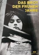 Das Brot der frühen Jahre - German Movie Cover (xs thumbnail)