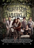 Beautiful Creatures - Turkish Movie Poster (xs thumbnail)