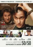 50/50 - Swedish Movie Poster (xs thumbnail)