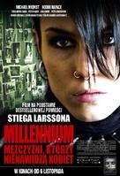 Män som hatar kvinnor - Polish Movie Poster (xs thumbnail)