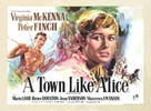 A Town Like Alice - British Movie Poster (xs thumbnail)