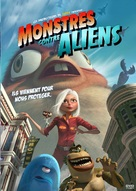 Monsters vs. Aliens - French Movie Cover (xs thumbnail)