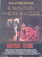 The Cook the Thief His Wife & Her Lover - Danish Movie Poster (xs thumbnail)