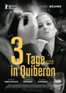 3 Tage in Quiberon - Swiss Movie Poster (xs thumbnail)