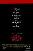 Young Sherlock Holmes - Advance poster (xs thumbnail)