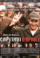 Capitães de Abril - Italian Movie Poster (xs thumbnail)