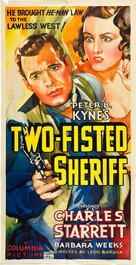 Two Fisted Sheriff - Movie Poster (xs thumbnail)