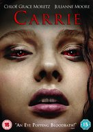 Carrie - British DVD movie cover (xs thumbnail)