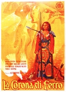 La corona di ferro - Italian Movie Poster (xs thumbnail)