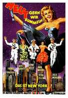 On the Town - German Movie Poster (xs thumbnail)