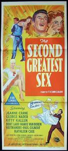 The Second Greatest Sex - Australian Movie Poster (xs thumbnail)
