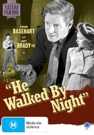 He Walked by Night - Australian DVD cover (xs thumbnail)