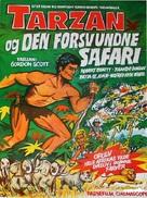 Tarzan and the Lost Safari - Danish Movie Poster (xs thumbnail)