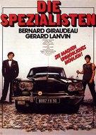 Spécialistes, Les - German Movie Poster (xs thumbnail)