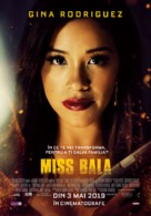 Miss Bala - Romanian Movie Poster (xs thumbnail)