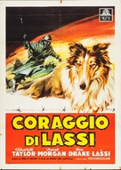 Courage of Lassie - Italian Movie Poster (xs thumbnail)