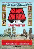 Kampf um Rom II - Der Verrat - German Movie Poster (xs thumbnail)