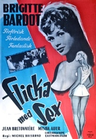 Cette sacrée gamine - Swedish Movie Poster (xs thumbnail)