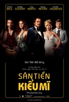 American Hustle - Vietnamese Movie Poster (xs thumbnail)