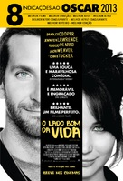 Silver Linings Playbook - Brazilian Movie Poster (xs thumbnail)