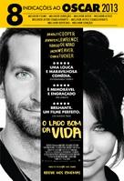 Silver Linings Playbook - Brazilian Movie Poster (xs thumbnail)