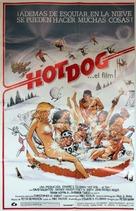 Hot Dog... The Movie - Spanish Movie Poster (xs thumbnail)