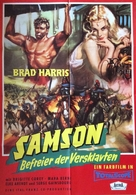 La furia di Ercole - German Movie Poster (xs thumbnail)