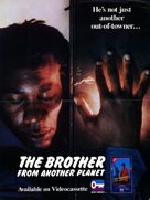 The Brother from Another Planet - Video release poster (xs thumbnail)