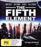 The Fifth Element - Australian Blu-Ray cover (xs thumbnail)