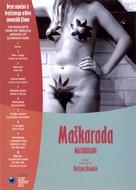 Maskarada - Slovenian DVD cover (xs thumbnail)