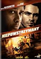 Unstoppable - Polish DVD movie cover (xs thumbnail)