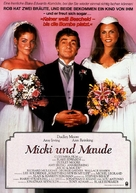 Micki + Maude - German Movie Poster (xs thumbnail)