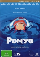 Gake no ue no Ponyo - Australian DVD cover (xs thumbnail)