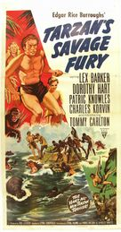Tarzan's Savage Fury - Movie Poster (xs thumbnail)