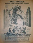 The Beast from 20,000 Fathoms - Spanish poster (xs thumbnail)