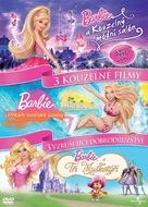 Barbie and the Three Musketeers - Czech DVD cover (xs thumbnail)