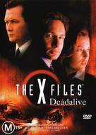 """The X Files"" - Australian DVD movie cover (xs thumbnail)"
